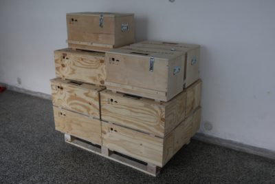 Second batch of crates for the Zen Nixie clocks