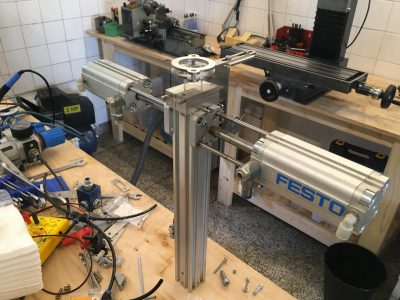 Stem making machine - under construction