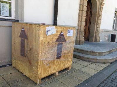 New helium leak detector - big package!
