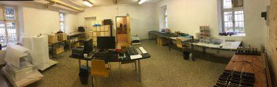 Zen clock assembly + office